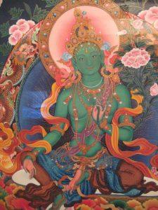Green Tara Saviouress