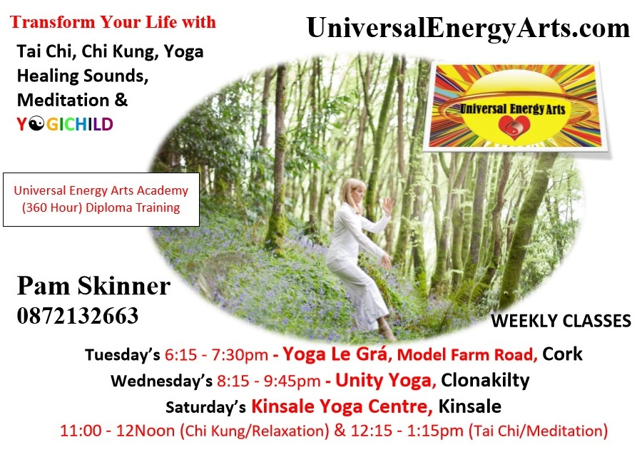 Weekly Classes & Workshops in Co Cork with Pamela