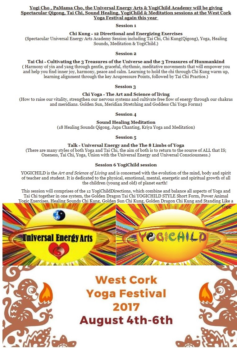 West Cork Yoga Festival – August 2017