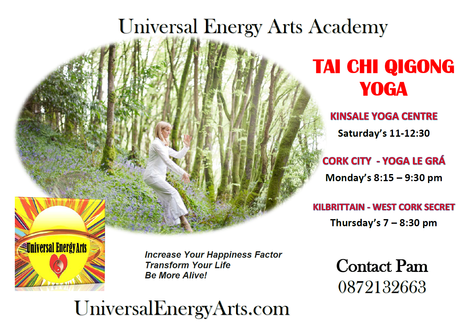 Autumn Tai Chi Qigong Meditation Classes – Cork